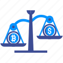 bitcoin, cryptocurrency, market, mining, money, price, value icon
