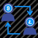 communication, connect, market, marketing, peer, people, technology icon