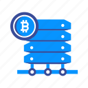 bitcoin, coin, computer, cryptocurrency, currency, hardware, mining icon