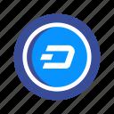 blockchain, coin, cryptocurrency, dash, mining, money, virtual