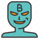 bitcoin, crime, cyber, fraud, hacker, scam, scammer