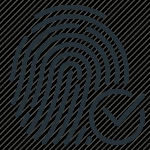 Cryptographic, cryptographic signature, signature, fingerprint icon - Download on Iconfinder