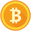 bitcoin, blockchain, coin, cryptocurrency, decentralized, mining, money icon
