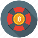 bitcoin, business, cryptocurrency, decentralized, help, mining, support icon