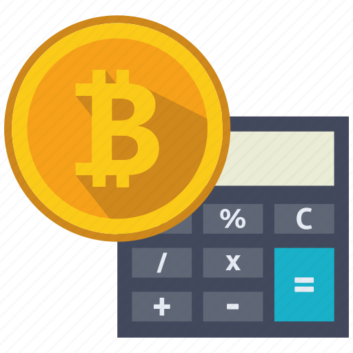 altcoins, anonymity, bitcoin, blockchain, calculator, cryptocurrency icon