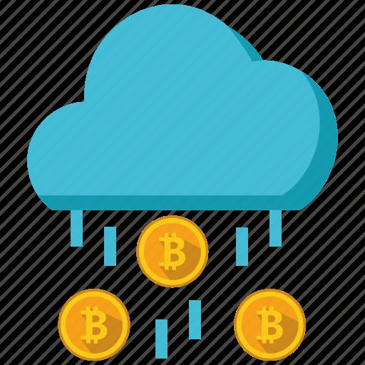 altcoins, anonymity, bitcoin, blockchain, calculator, cryptocurrency, rain icon
