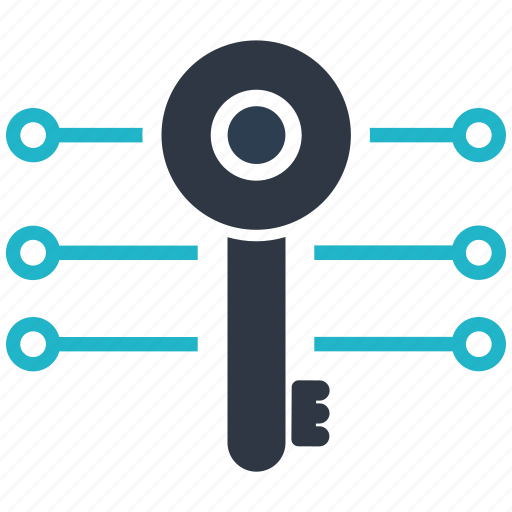 altcoins, anonymity, blockchain, calculator, cryptocurrency, digital, key icon