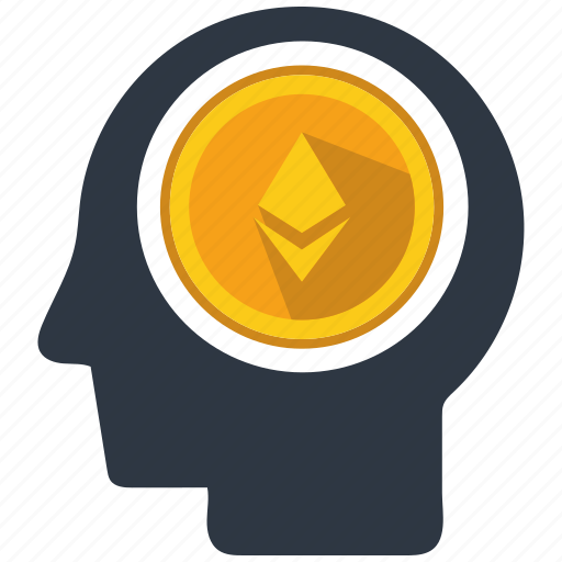 altcoins, anonymity, blockchain, calculator, cryptocurrency, ethereum, mind icon