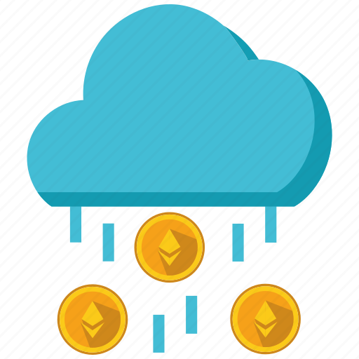 altcoins, anonymity, blockchain, calculator, cryptocurrency, ethereum, rain icon