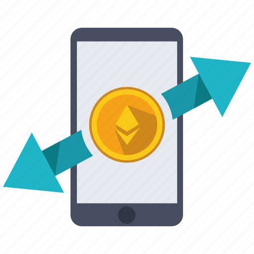 altcoins, anonymity, blockchain, calculator, cryptocurrency, ethereum, transfer icon