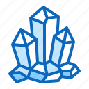crystal, magic, mineral, rock, stone icon