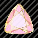 crystal, diamond, gemstone, precious icon