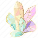 precious, crystal, gemstone, jewel icon