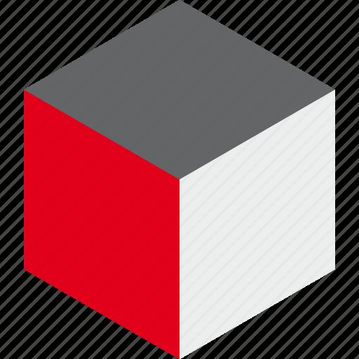 box, cube, design, element, game, graphic, web icon
