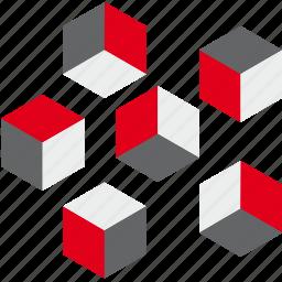 box, cube, design, element, game, shape, web icon