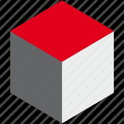 cube, design, element, shape, shapedesign, tool, web icon