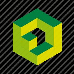 box, cubes, design, elements, logo, tool, web icon