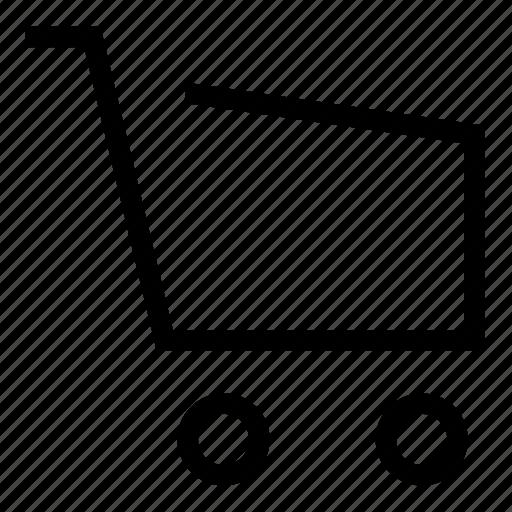 bag, cart, shopping icon