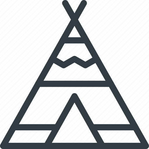 Civilization, community, culture, indian, nation, tipi, wigwam icon - Download on Iconfinder