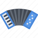 accordion, country, culture, history, people, tradition icon