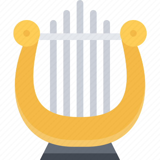 country, culture, harp, history, people, tradition icon