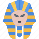 country, culture, history, people, pharaoh, tradition icon