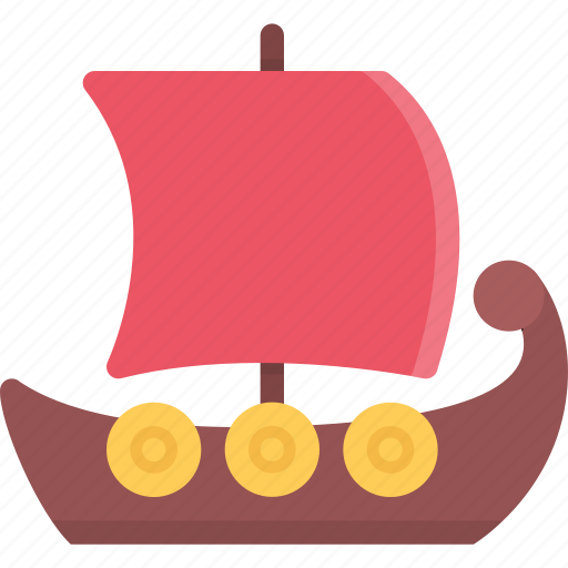 country, culture, history, people, ship, tradition icon