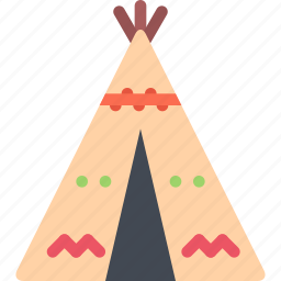 country, culture, history, people, tradition, wigwam icon
