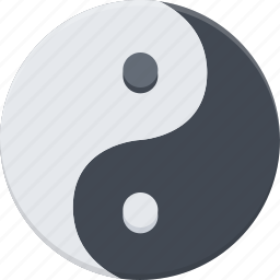 country, culture, history, people, tradition, yang, yin icon