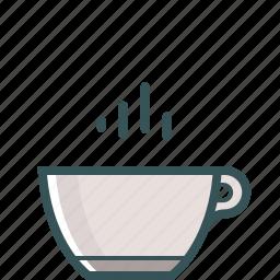 brewed coffee, coffee, coffee cup, coffee mug, espresso, hot coffee icon