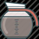 brewed coffee, coffee, coffee jug, coffeemaker, espresso, jug