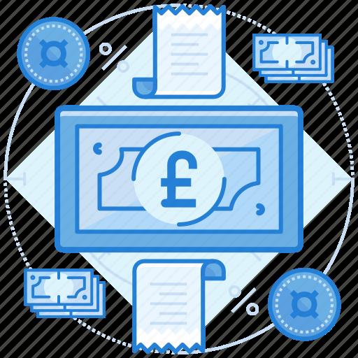 british, cash, currencies, finance, pound icon