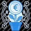currencies, euro, finance, grow