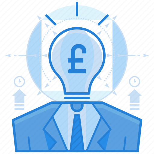 british, currencies, finance, pound, thought icon