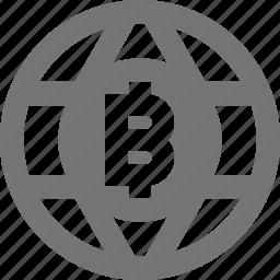 bitcoin, network icon