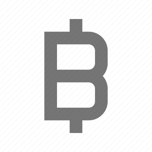 bitcoin, currency, money, sign icon