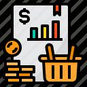 basket, business, finance, money, report