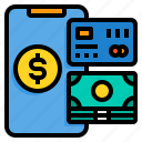 card, credit, money, payment, smartphone