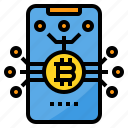 bitcoin, cryptocurrency, currency, money, smartphone