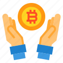 Bitcoin Computer Cryptocurrency File Money Icon
