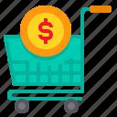 business, cart, money, payment, shopping