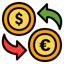 exchange, money, finance, dollar, currency, payment, euro