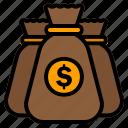 money, bag, finance, dollar, cash, payment, bank