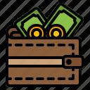 wallet, money, finance, cash, dollar, coin, payment