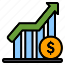 profit, growth, chart, graph, income, finance, currency