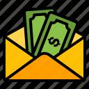 money, envelope, finance, cash, dollar, currency, payment