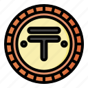 tenge, kazakhstan, currency, financial, coin, money