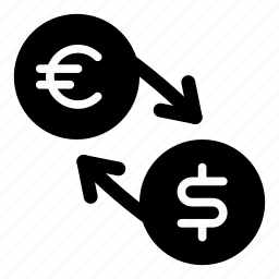 currency, dollar, eur, euro, exchange, money, usd icon