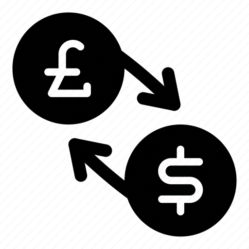 currency, dollar, exchange, gbp, money, pound, usd icon