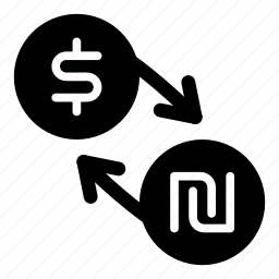 currency, dollar, exchange, ils, money, shekel, usd icon